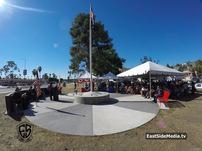 Veterans Day Tribute in El Sereno 2016
